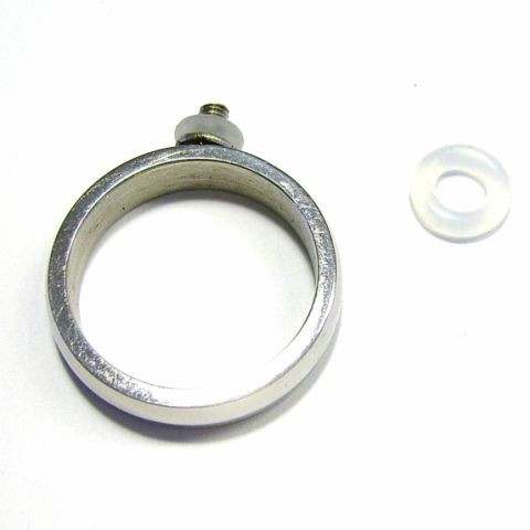 Edelstaal ring